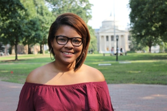 Madia Brown   Outreach   Sophomore   Whiteville, NC